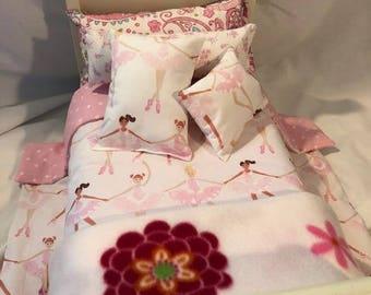 BALLERINA III - 6-Piece Doll Bedding Set