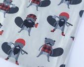 Washcloth - Facecloth - Beavers Washcloth - Bath & Beauty - Lumberjack Beavers  - Wash Cloth - Baby Shower Gift