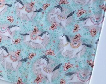 Horse Washcloth - Bamboo Washcloth - Facecloth - Washcloth - Bath & Beauty - Baby Girl Gift - Wash Cloth - Baby Shower Gift