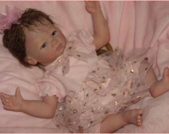 Maci Caroline ~  REBORN  Secrist Honey Face- 19 Inch Baby