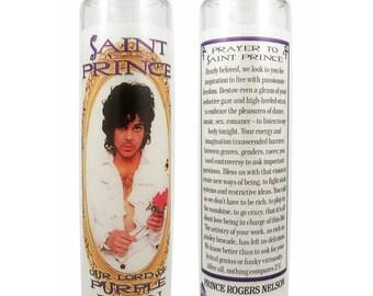 Saint Prince prayer candle