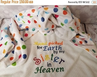 50% OFF Raindow baby sister blanket