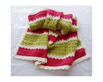Crochet Lapghan Crochet Pattern (DOWNLOAD) CNC96