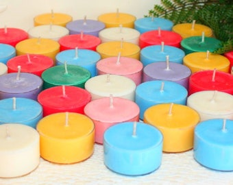 RESERVED FOR SUE Soy Wax 6 Pack Tealights Custom Assortment,Homemade Hand Poured, SuMMeR CLaSSiCS,FLoRaLFuN,FuNKy ,UNiQue & JuST PLaiN WeiRD