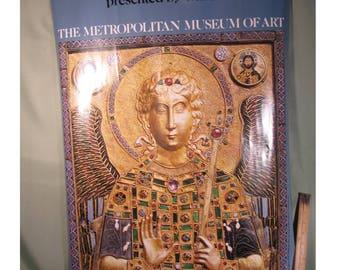 TREASURY of SAN MARCO 1985 Art Exhibit Poster, Exhibit at the Metropolitan Museum of Art from Olivetti,The Treasury of San Marco Art Exhibit