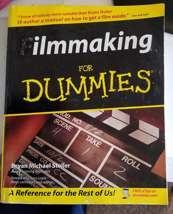 film making for dummies reference book 2003