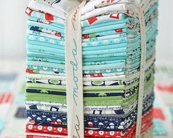 SALE.  Daysail Fat Eighth Bundle  by Bonnie and Camille for Moda