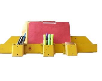 Magazine Holder Office Organizer Wall Rack Brochure Display Industrial Home Book Rack File Folder Door Organizer Pencil Holder Artist Gift