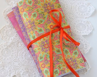 Boho Brights Traveler's Notebook Inserts Set of 3