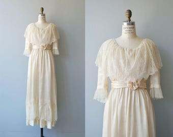 Nuptials 1916 wedding gown | antique Edwardian wedding dress | vintage 1910s wedding dress