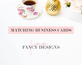 Matching Business Card Design Professional Business Cards Square Business Cards Business Card Template Branding Package Affordable Brand
