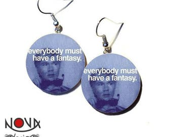 Andy Warhol - Everybody must have a fantasy earrings