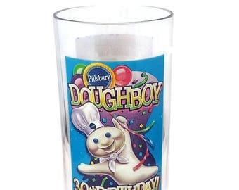 Pillsbury Doughboy 30th Birthday Glass Vintage 1995