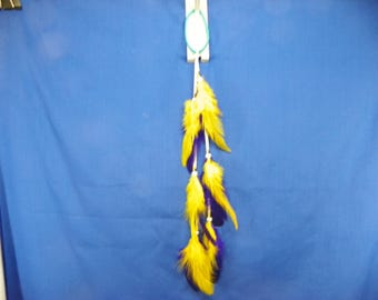 10 Inch Feather Pony Tail Holder