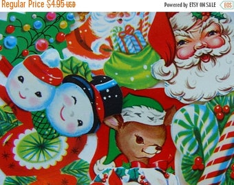 ONSALE Vintage Christmas Kitsch Dennison Gummed Seals Antique and Vintage Christmas mixed lot N0 60