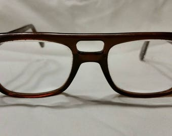 Brown vintage glasses, Prescription