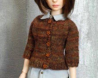 slim mini 1/4 BJD cardigan Robinette