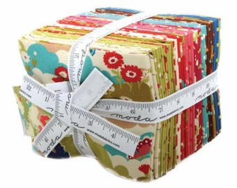 SUMMER SALE - Fat Quarter Bundle (27) - Lucky Day - MoMo - Moda Fabric