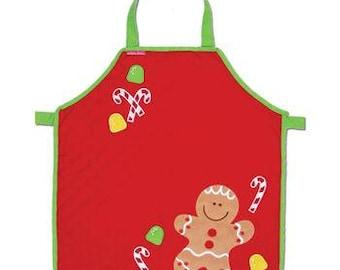 Personalized Stephen Joseph Gingerbread Apron