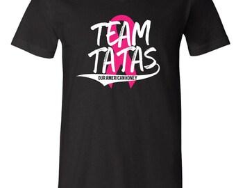 Team Tatas Vneck Tee