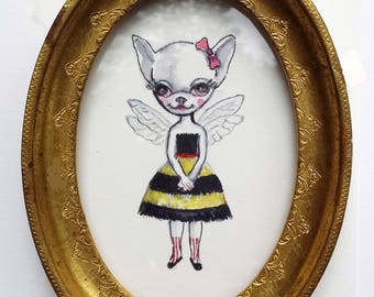 Miss Bombini / Original drawing / Ilona Cutts