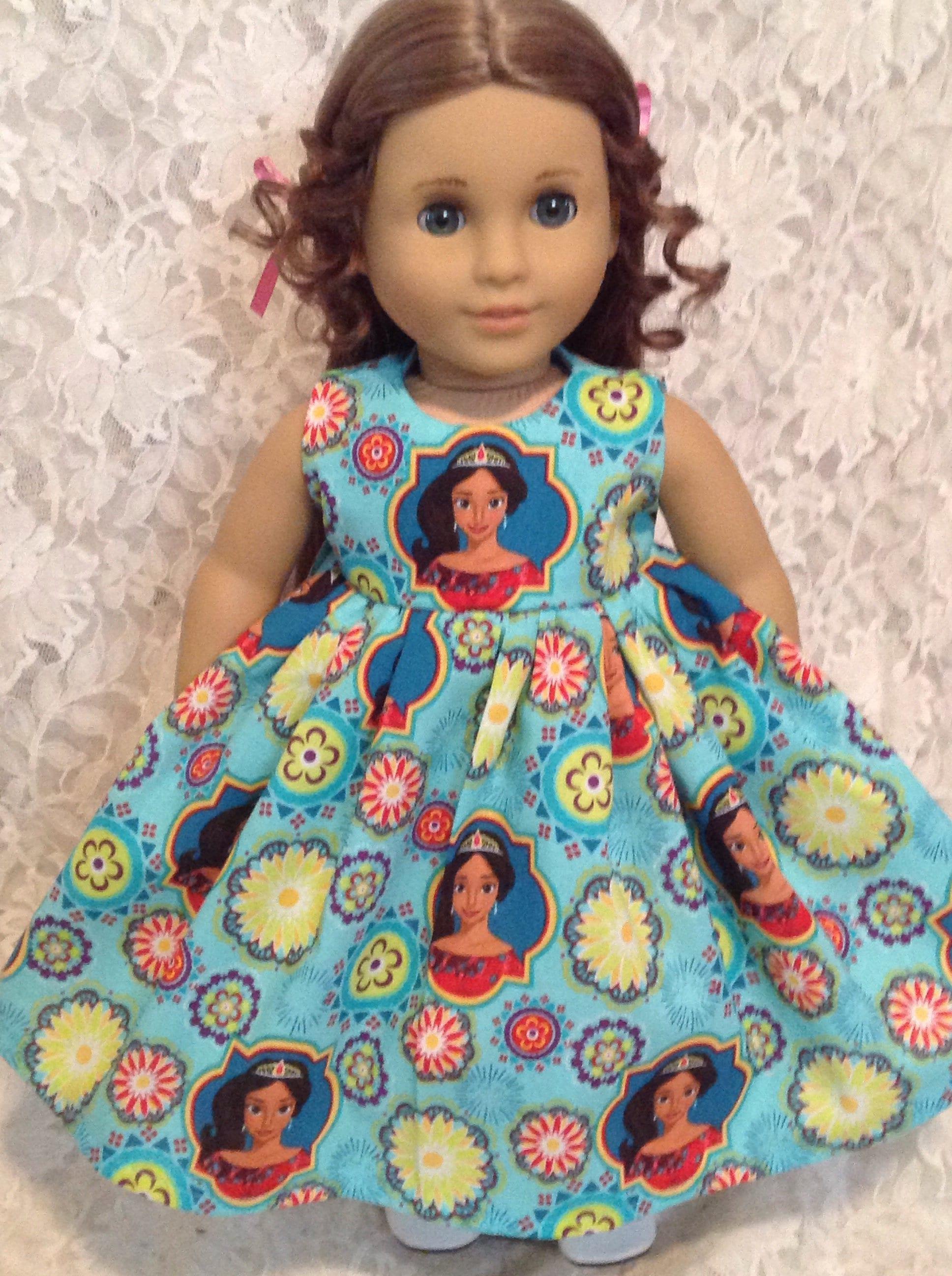 Elena of Avalor Disney Princess Doll Dress fits 15 18 American