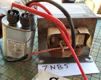 Microwave oven transformer, objy2 MOT, upcycle, recycle, repurpose, maker, mad science, 7NB5