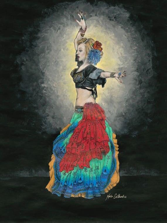 Allana's Dance - Fully archival fine art print