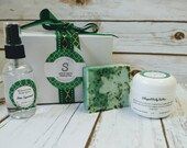 Lime Spearmint Soap Collection, gift soap, body mist/body butter/birthday gift/gift for mom/graduation gift