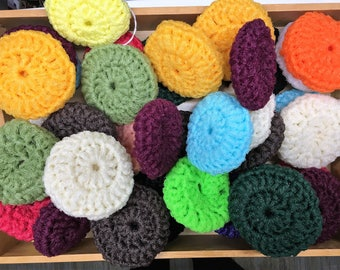Nylon Net Double Thickness Pot Scrubbers