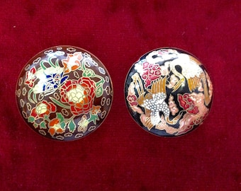 Cloisonne Antique Chinese big Pendant PRICE FOR 1