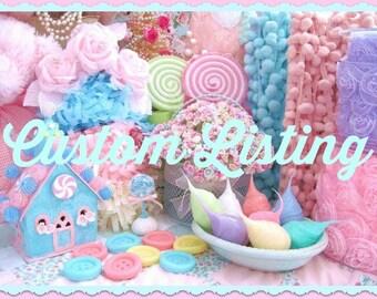 Custom Order For Aunt Carolyn