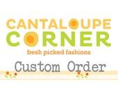 Custom order for Jeana Stuart