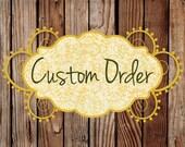 Cher Adams - custom order