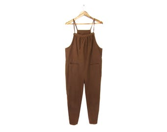 Simple Ruched Overalls