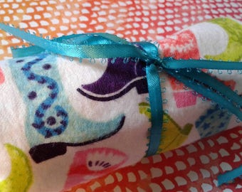 Cowgirl  |  Crayon Roll-Up