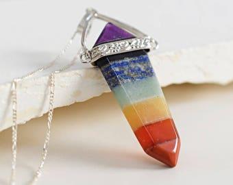 925 Silver CHAKRA Pendulum Necklace