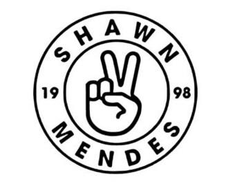 Shawn Mendes Army Fandom vinyl decal for mug Yeti locker laptop or any smooth surface.