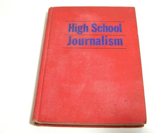 High School Journalism, 1964 Book