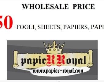 50  marbled  paper, carta marmorizzata, CM 50 X CM 70, marmorpapier -  2759