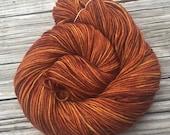 Hand Dyed DK Yarn Copper ...