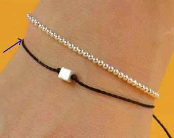 Dice bracelet-Sterling silver