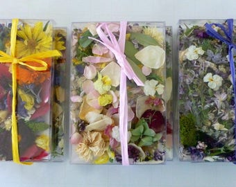 Dried Flowers, Wedding Confetti, Craft Supplies, Aisle Decor, Lavender, Flower Girl, Rose Petals, Wedding Favor, Real Flowers, Biodegradable