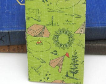 Pocket Camping Planner / Notebook / Journal / Sketchbook