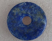 Large Lapis Stone Donut 39mm
