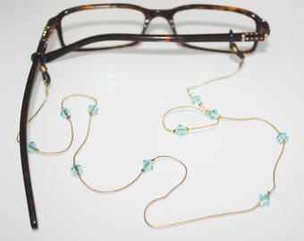 Glasses Chain || Light Turquoise