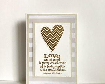 Anniversary Handmade Card