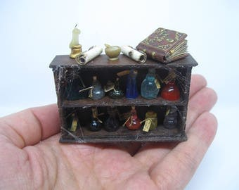 Potions Set - OOAK - FREE SHIPPING