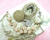 Project Findings Embellishments JUNQUE Inspiration Lot Shabby Sweet