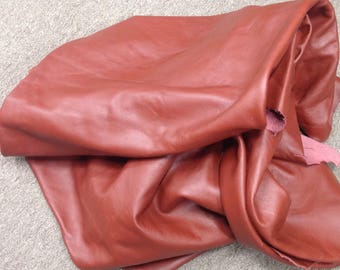 6-894.  Spice Leather Cowhide Partials